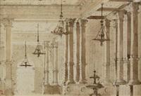 interno di palazzo by alessandro sanquirico