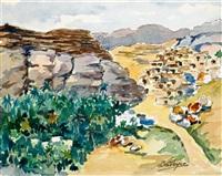 habitats du sud tunisien by louise marie peyre