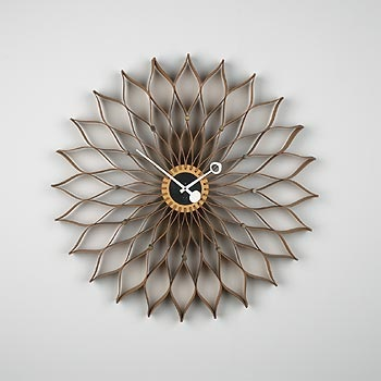 Sunflower Clock Model 2261 By George Nelson