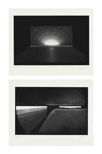 deep sky (set of 7) by james turrell