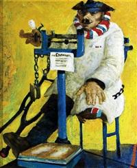 figürliche darstellung eines invaliden mit amputiertem bein by anatoly vasilyevich ikonnikov