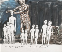 are they ready, yet, for an education in the classics? by raymond pettibon
