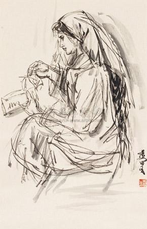 新疆少女 lady by huang zhou