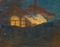 scène de nuit by henry bouvet