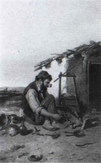 zigeunerschmiede by f. morelli