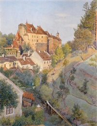 schloß raabs an der thaya by karl goth