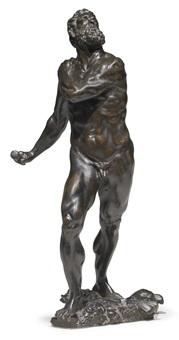 figure of mars or hercules by tiziano aspetti