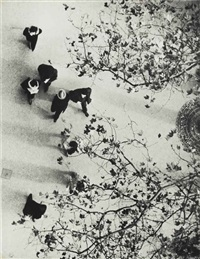 paris looking down, 1929 by andré kertész