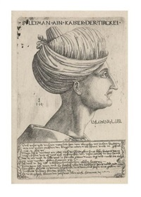 portrait of suleiman the magnificent by hieronymus hopfer