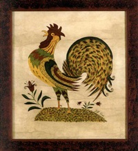 a rooster by bill rank