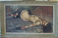 femme allongée by richard di (buddy) rosa