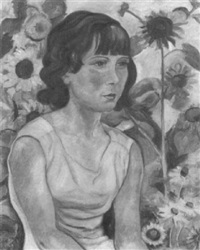 mädchenportrait by hanna klose-greger