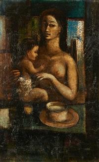 mère et son enfant by guy cambier