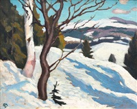 sugar snow, morin heights by edwin headley holgate