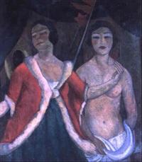 zwei unterschiedliche damen by maxmilian aurel reinitz rasko
