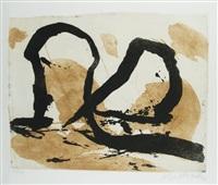 informelle komposition by emil schumacher