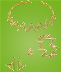 spike-schmuckgarnitur (set of 4) by tom dixon