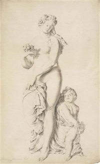 venus and cupid by abraham alensoon