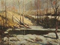 the frozen stream by william arnold eyden
