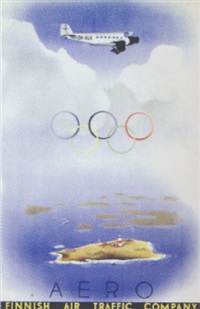 aero - finnish air traffic company by posters: sports - olympics