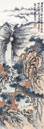 松风云水图 by xiao xun