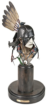 crow king maquette by dave mcgary