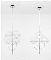 lampada a sospensione della serie lydon by vico magistretti