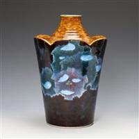 a jar-kutani by asakura isokichi