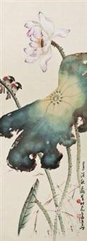 清荷野鸟 by huang leisheng