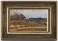 paysage by vasili (vladimir) vasilievich perepletchikov