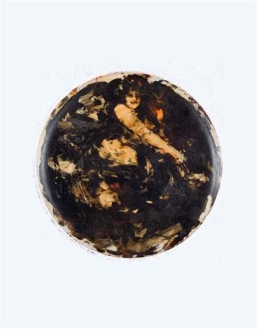 figura di donna by antonio mancini