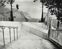 the stairs of montmartre, paris, 1926 by andré kertész