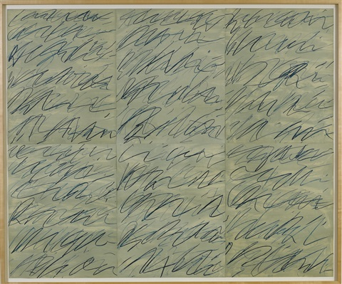 roman notes portfolio of 6 by cy twombly