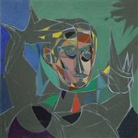 cubist portrait 33 by john f. leonard