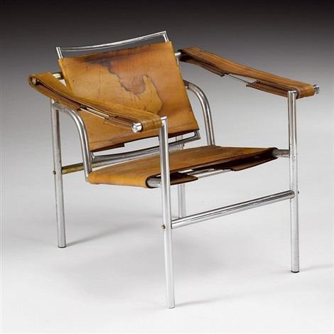 stuhl lc1 basculant by le corbusier on artnet. Black Bedroom Furniture Sets. Home Design Ideas