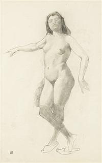 étude de danseuse (study) by armand rassenfosse