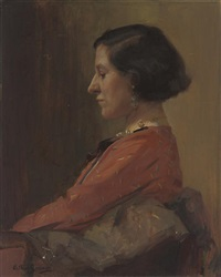 portrait of maud mercy willis by arthur spooner