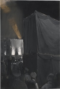 new god's funeral by adrian ghenie