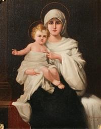 madonna & child by joseph malachy kavanagh
