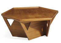 low table by bruce goff