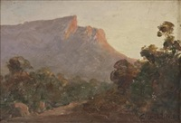 kloof corner, evening by edward clark churchill mace