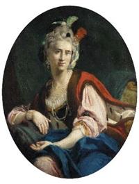 ritratto di dama by saverio dalla rosa
