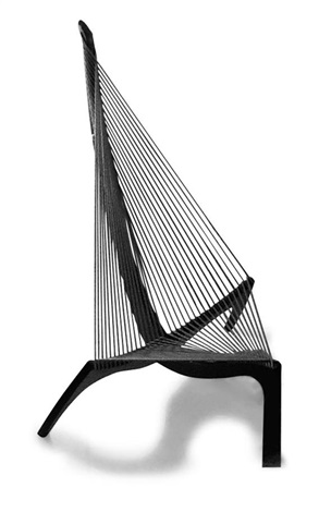 chaise model harpe by jorgen hovelskov