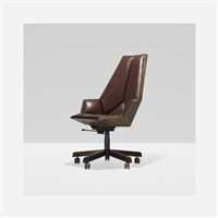 rare office chair from the paulin collection by pierre paulin