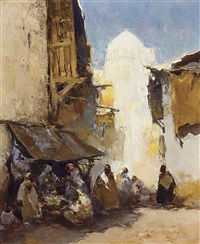 scenary in caïro by gerard adolfs
