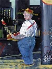 toy seller, sixth avenue by jock mcfayden