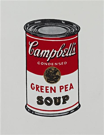 andy warhol campbells soup can by richard pettibone