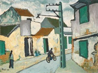 hanoi street by bui xuan phai