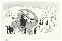 all aboard for elephant land by jean de brunhoff