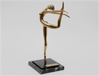dancing ballerina by prince monyo mihailescu-nasturel